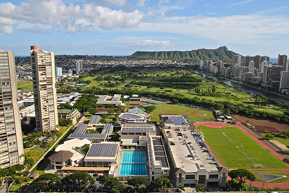 Honolulu Community College Campus Map.Campus Maps Iolani School